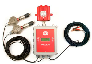 Beacon 200 H2S/LEL Drilling Rig Monitor