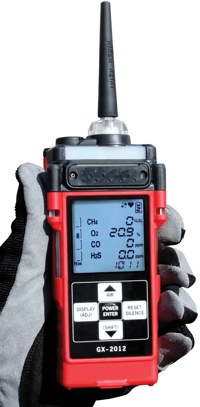 GX-2012 Confined Space Multi-Gas Detectors