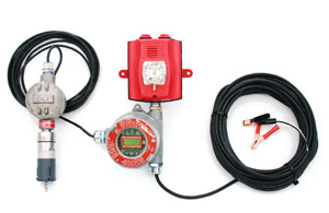 M2 Drilling Rig H2S Gas Monitor